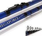 Удилище телескопическое с кольцами DAIWA Megaforce River Trout / MGF RT 37G (3,7м)