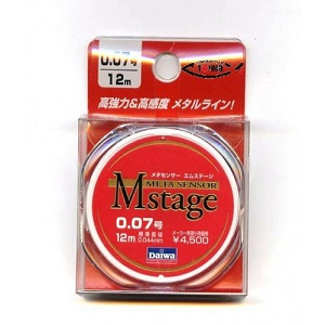 Поводковый материал DAIWA METASENSOR M-STAGE (0,044мм) - 12м