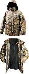 Куртка непромокаемая дышащая удлинённая с подстёжкой из флиса  DAIWA Mission JKT With Zipout Fleece - размер L (50) / MJ-L