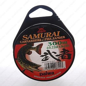 Монолеска DAIWA Samurai Pike Zander 0,40 мм ( 200м )