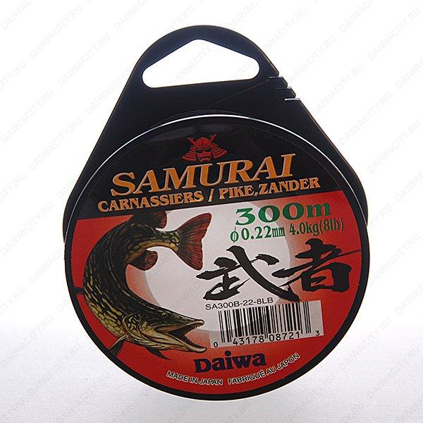 Монолеска DAIWA Samurai Pike Zander 0,35 мм ( 300м )