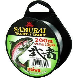 Монолеска DAIWA Samurai Trout 0,20 мм ( 200м )