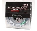 Плетеная леска DAIWA Shinobi Braid - 30 Lb (0.20мм) - 270м (тёмно-зелёная)