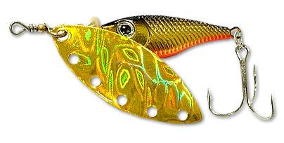 Блесна вращающаяся DAIWA Silver Creek Spinner R 1060 / Holo Kurokin (0202)