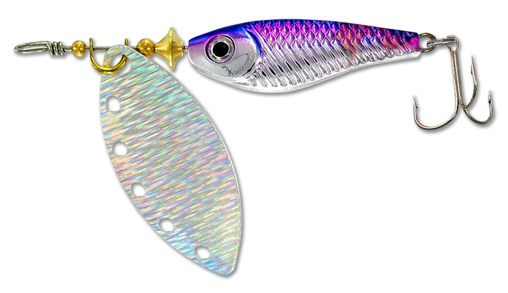 Блесна вращающаяся DAIWA Silver Creek Spinner R 1060 / Holo Himemasu (0204)