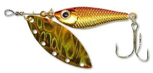Блесна вращающаяся DAIWA Silver Creek Spinner R 1090 / Holo Akakin (0206)