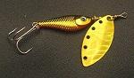 Блесна вращающаяся DAIWA Silver Creek Spinner R 1150 / Holo Kurokin (0019)
