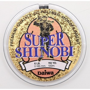 Монолеска DAIWA Super Shinobi 100m (0,074mm)