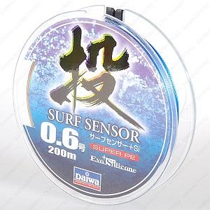 Плетеная леска DAIWA Surf Sensor + SI  1,2 (200m)