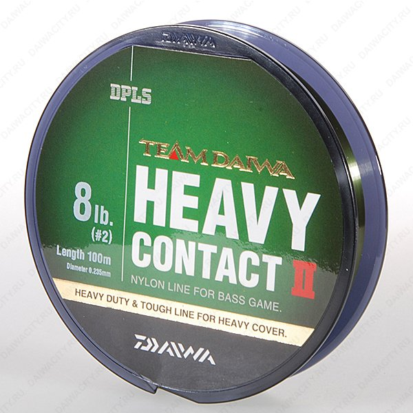 Монолеска DAIWA TD HEAVY CONTACT II 20LB-100M