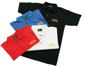 Рубашка поло красная DAIWA Team Daiwa размер - XL