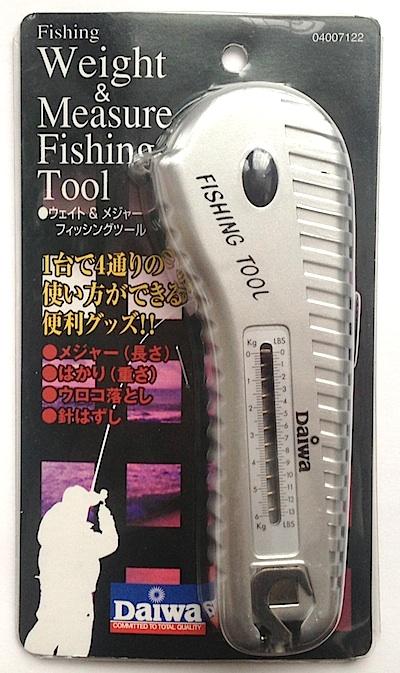 Инструмент с весами и рулеткой DAIWA Weght & Measure Fishing Tool (7122)