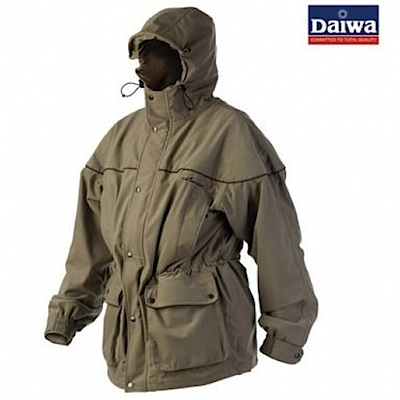 Куртка непромокаемая дышащая удлинённая DAIWA Wilderness XT 3/4 Jacket - размер L (50) / WDXTJ-L