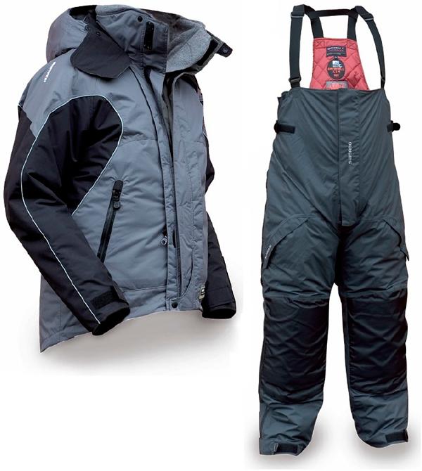 Костюм Shimano Dryshield XT Winter (RUS) Серый /XXXL
