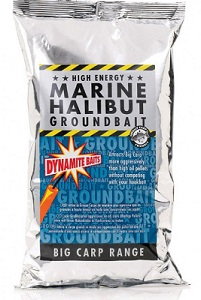 Прикормка Dynamite Baits 1 кг Marine Halibut смесь для PVA мешков
