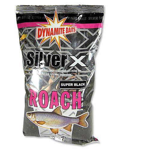 Прикормка Dynamite Baits 1 кг Silver X плотва super black