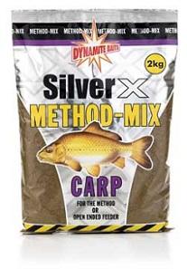 Прикормка Dynamite Baits 2 кг Silver X карп Method