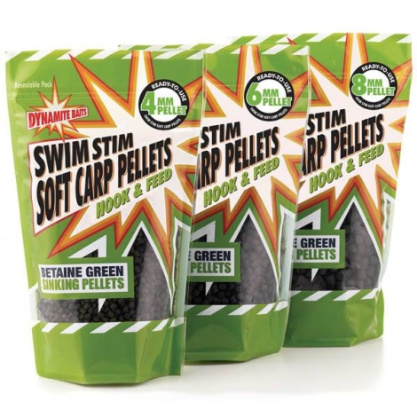 Пелетс Dynamite Baits 500 гр Swim Stim Green 6 мм