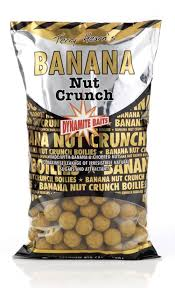 Бойлы плавающие Dynamite Baits 10 мм Banana Nut Crunch 1 кг