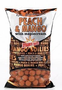 Бойлы плавающие Dynamite Baits 15 мм Peach & Mango 1 кг