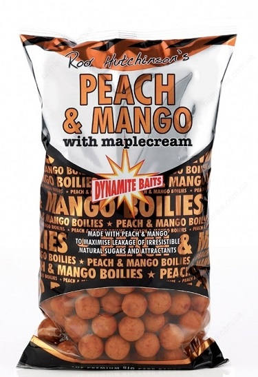 Бойлы плавающие Dynamite Baits 20 мм Peach & Mango 1 кг