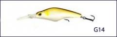 Воблер Scorana Deep Zero Cnk 75F плав. 75мм, 10.8гр., 1.2-2.2м (G14)
