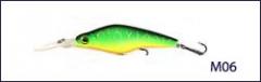 Воблер Scorana Deep Zero Cnk 75F плав. 75мм, 10.8гр., 1.2-2.2м (M06)