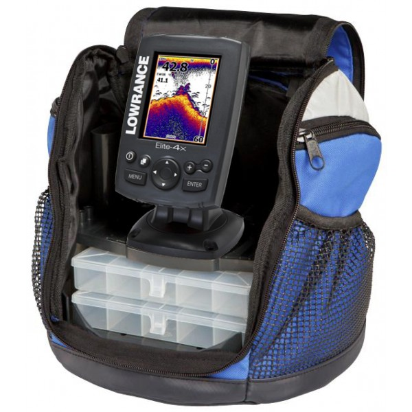 Эхолот Lowrance Elite 4x hdi ICE MACHINE