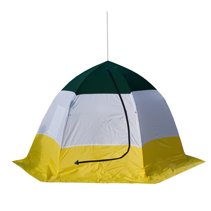 Палатка для зимней рыбалки СТЭК ЭЛИТ 3 брезент