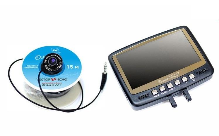 Подводная видеокамера Фишка 4303 с записью