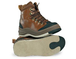 Ботинки вейдерсные Rapala ProWear кож. коричн. размер 44