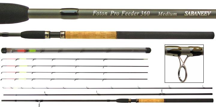 Фидерное удилище SABANEEV Foton Pro 395 см до 90 гр 2017г.