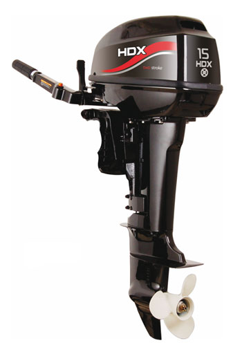 Лодочный мотор 2-х тактный HDX T 15 BMS
