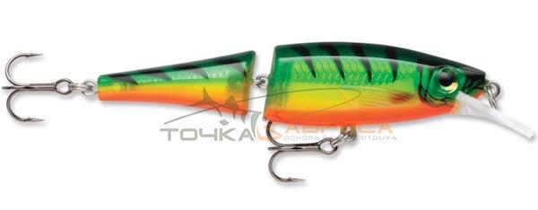 Воблер Rapala BX Jointed Minnow плавающий 1.8м-2.4м 9см 8гр цвет FT