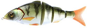 Воблер Izumi Shad Alive 5 section white fish 120 (FLOATING) №10