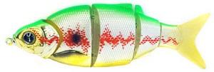 Воблер Izumi Shad Alive 5 section white fish 105 (FAST SINKING) №28