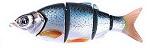 Воблер Izumi Shad Alive 5 section white fish 145 (SLOW SINKING) №1