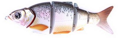 Воблер Izumi Shad Alive 5 section white fish 145 (SLOW SINKING) №2