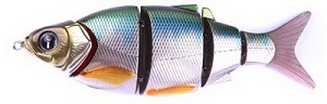 Воблер Izumi Shad Alive 5 section white fish 145 (SLOW SINKING) №6