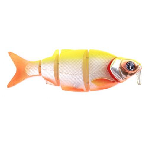 Воблер Izumi Shad Alive WITH LIP 5 section white fish 145 DD (SUSPENDING) №4