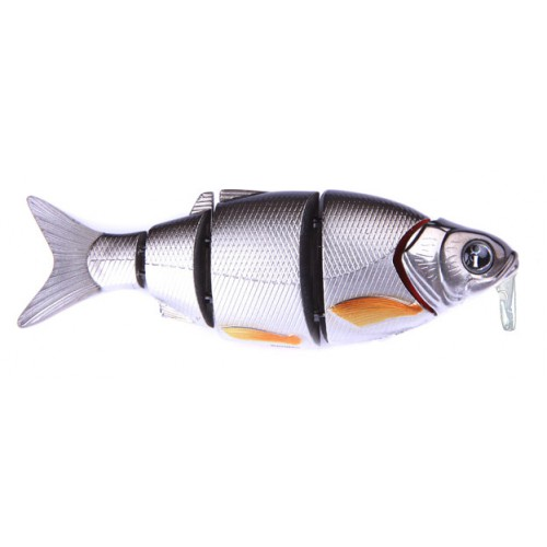 Воблер Izumi Shad Alive WITH LIP 5 section white fish 105 SD (FLOATING) №9
