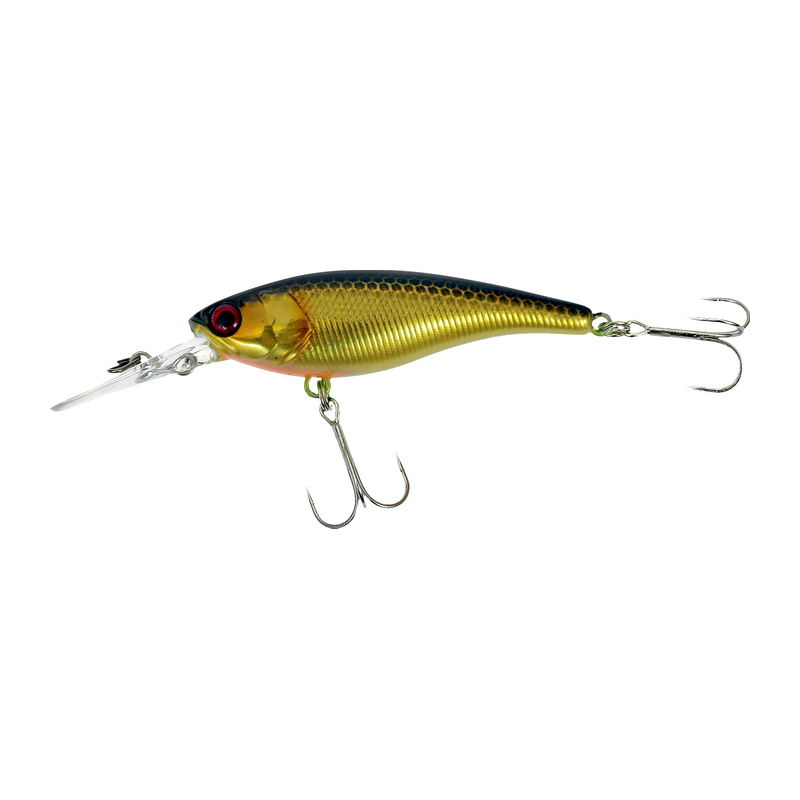 Воблер JACKALL Soul Shad 58 SP hl gold & black