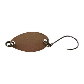 Блесна колеблющаяся JACKALL TIMON Nibble 1.5G dark brown