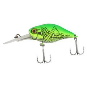 Воблер JACKALL D Chubby 38 Silent rt grass hopper/chartreuse