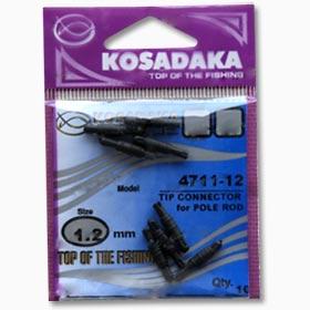 Коннектор для удилища Kosadaka 4711 1.3 мм (10шт.)