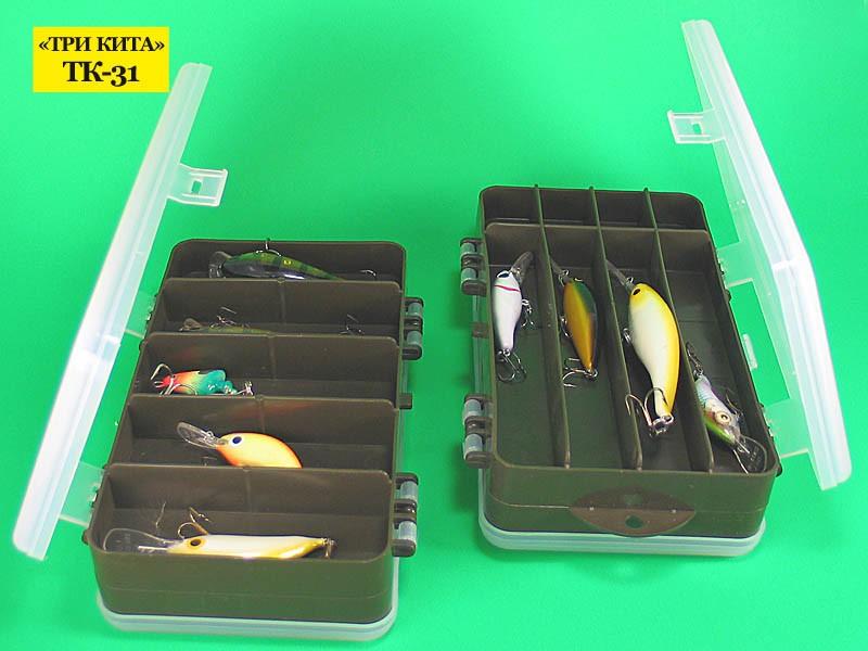 Коробочка Idea Fisher ТК-31 рыболовная 2-хсторонняя