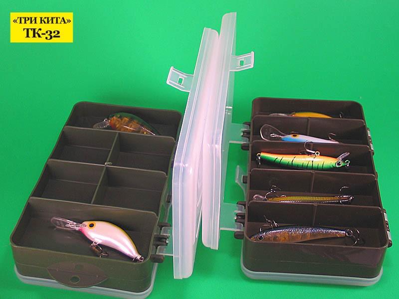Коробочка Idea Fisher ТК-32 рыболовная 2-хсторонняя