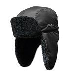 Шапка ушанка Kosadaka Arctic мех меланж, черный, размер XL