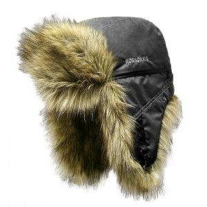 Шапка ушанка Kosadaka Arctic волк черный, размер XL