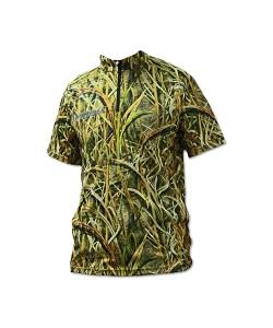Футболка Kosadaka Camouflage Sunblock, р-р XL, UV защита,  кор.рукав